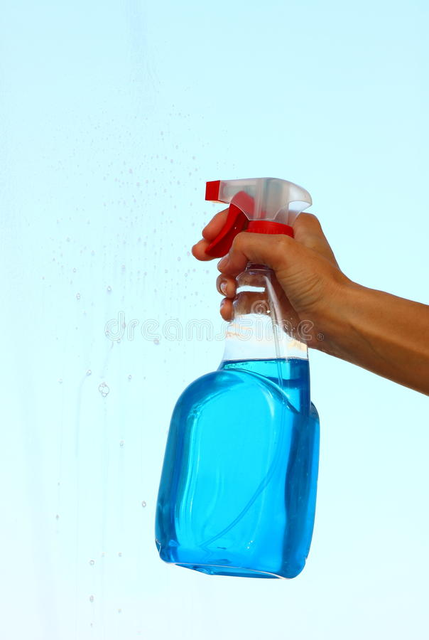 Spray bottle royalty free stock photos