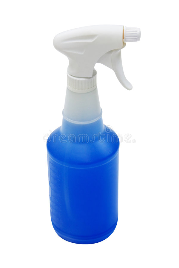 Spray Bottle with clipping path royalty free stock images