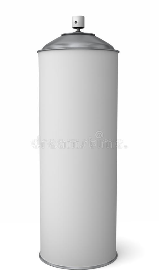 Download Spray Can stock illustration. Image of paint, metal, cleaner - 11614790