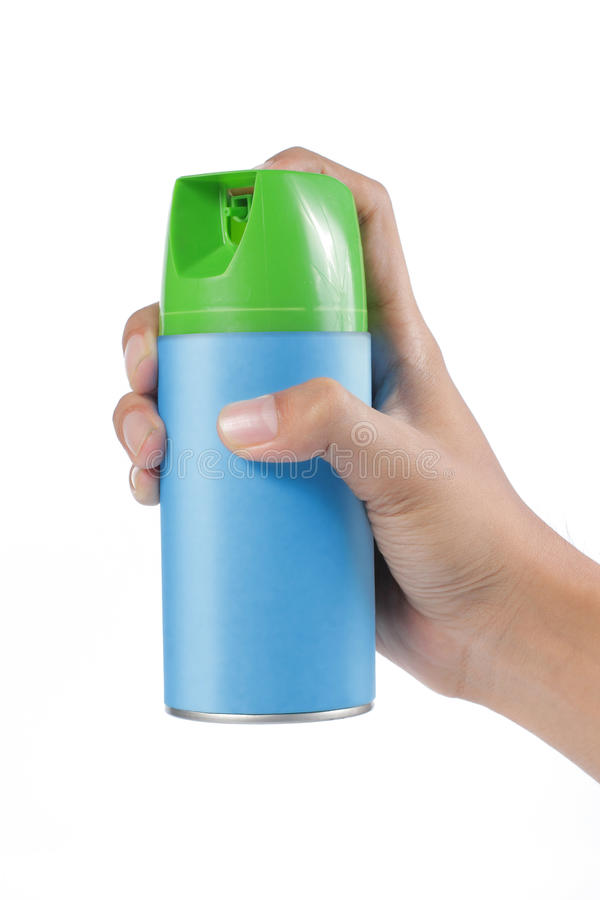 Spray can royalty free stock photo