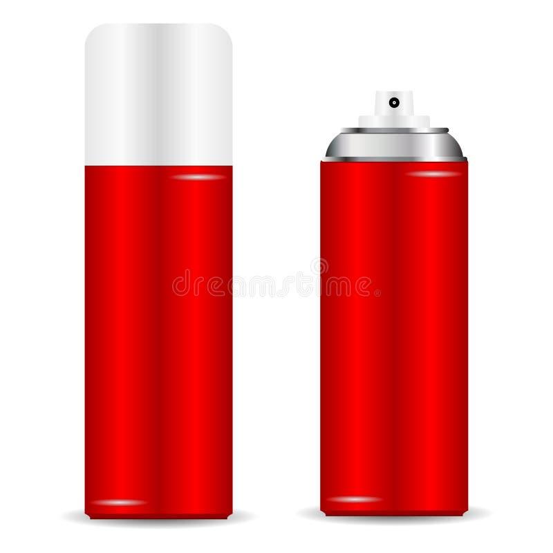 Download Spray can stock vector. Illustration of aerosol, aluminium - 22029297