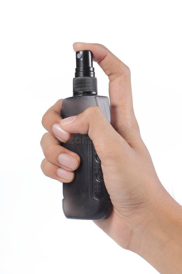 Spray deodorant royalty free stock photography