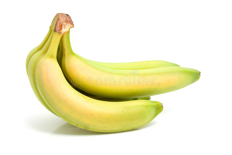Spray Of Fresh Bananas Royalty Free Stock Images