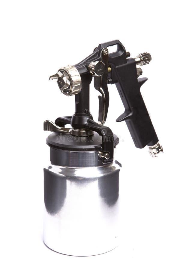 Download Spray gun stock photo. Image of painter, sprayer, compressor - 11375732