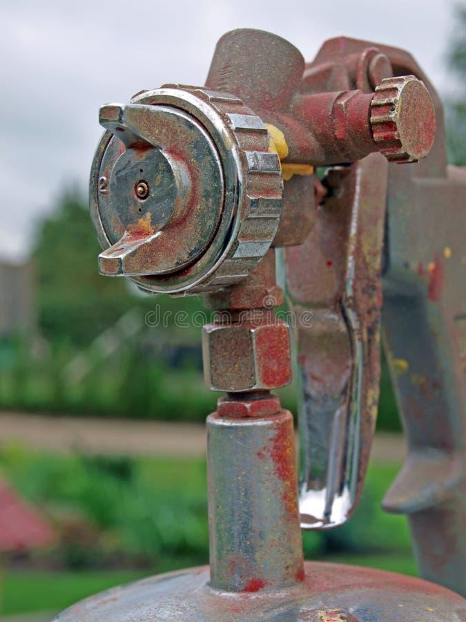 Download Spray gun 2 stock image. Image of hand, color, aluminum - 20824465