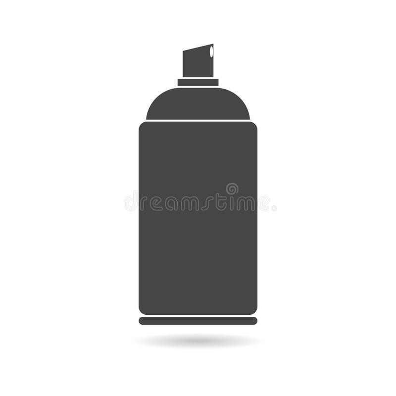 Spray icon stock illustration