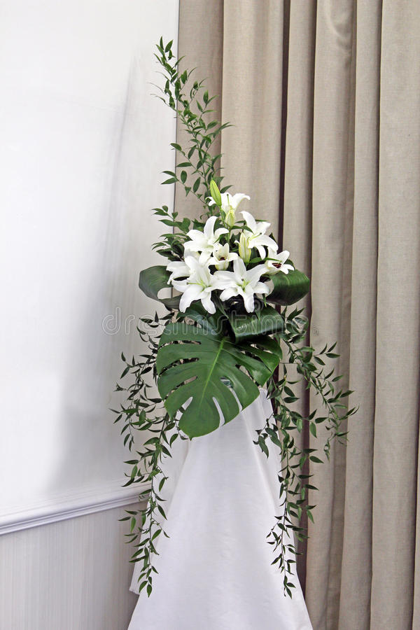 Download A Spray Of Lillies Stock Photo - Image: 24345050