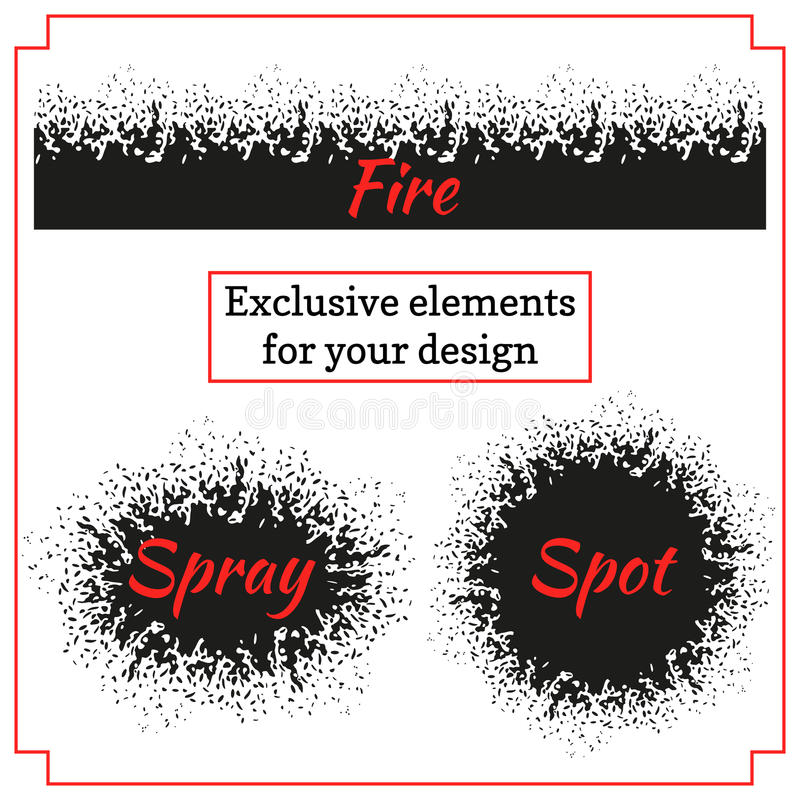 Spray paint graffiti royalty free illustration