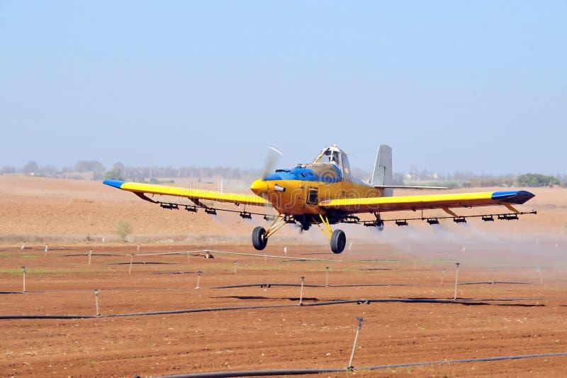 Spray Plane Royalty Free Stock Photography