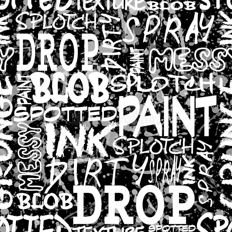 Spray seamless black