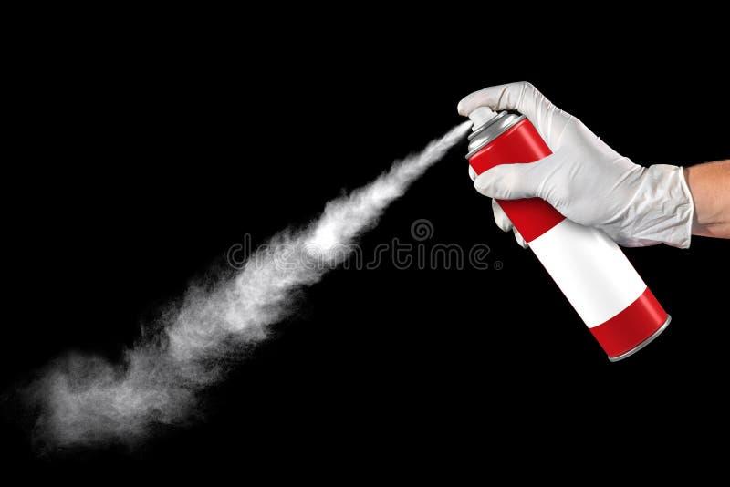 Spraydose Insektenvertilgungsmittel stockbild