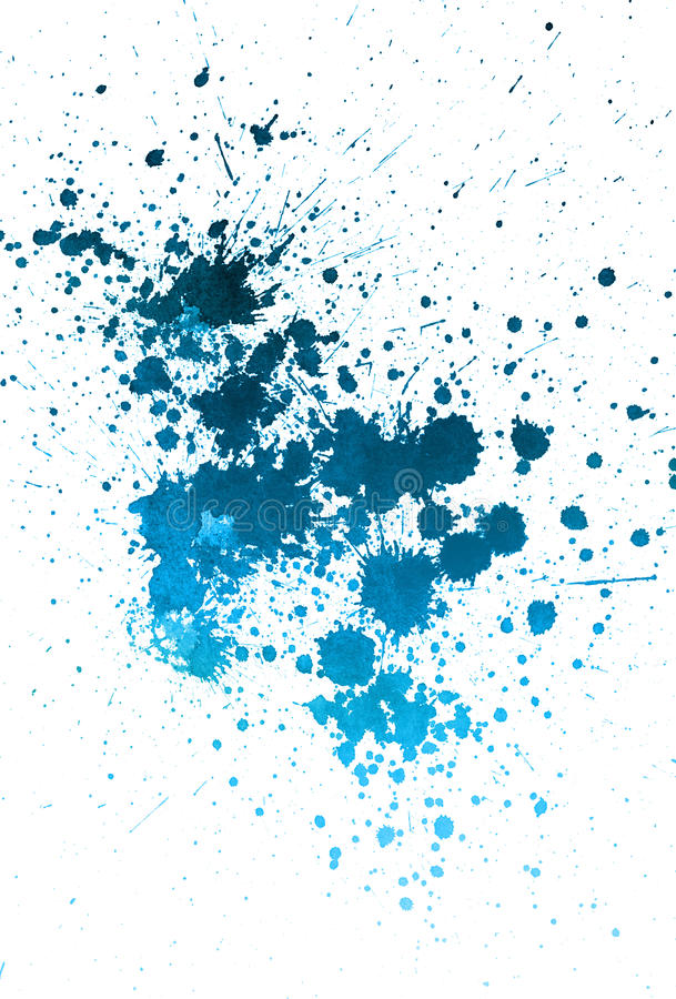 Free Sprayed Blue Paint Royalty Free Stock Photography - 10033917