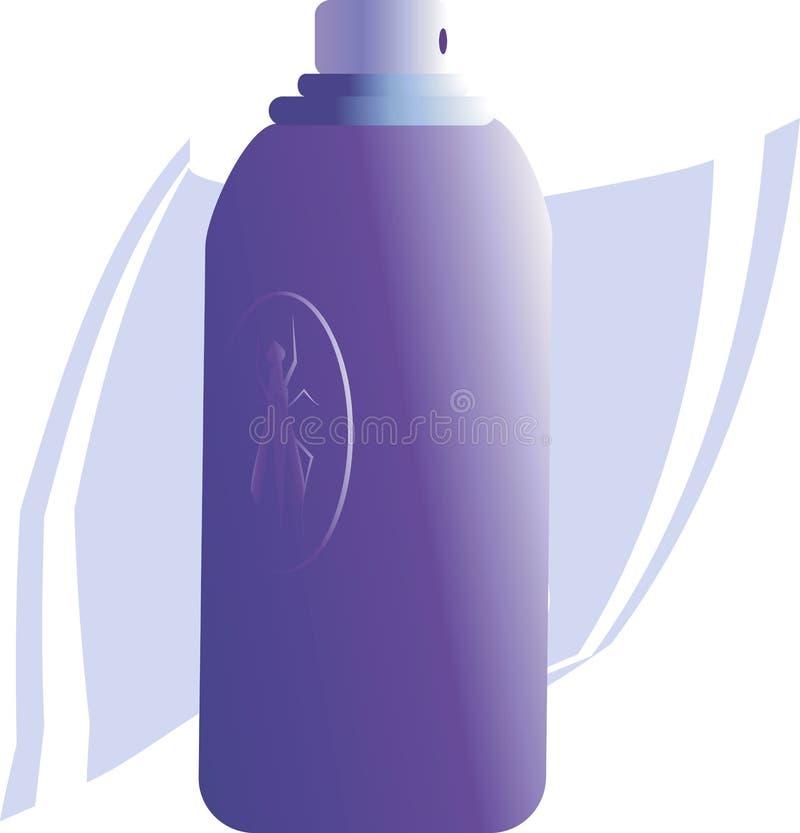 Sprayflasche stock abbildung
