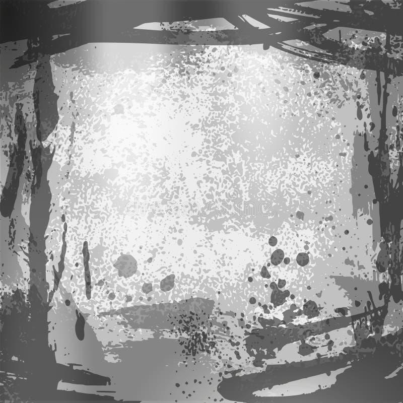 Sprayhintergrund 04 stock abbildung