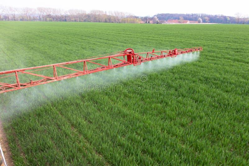 spraying stock afbeelding