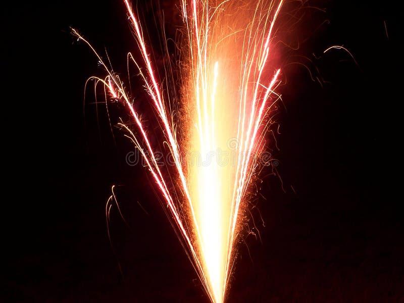 Download Spraying Fireworks stock photo. Image of july, starburst - 160180