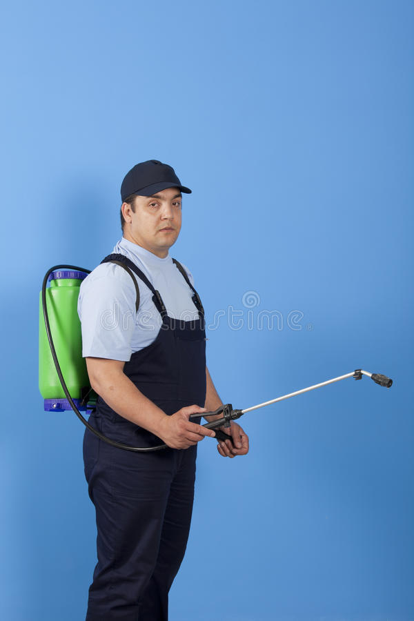 Download Spraying Insects- Pest Control Stock Image - Image: 25010723