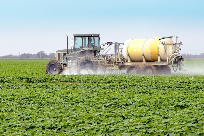 Spraying Pesticides - 4 stock photo