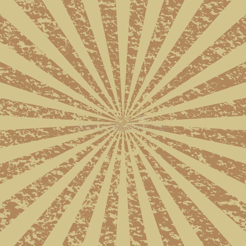 Sprazzo di sole di Grunge [2] royalty illustrazione gratis