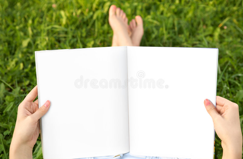 Download Spread stock photo. Image of book, learn, outdoor, holding - 8829852
