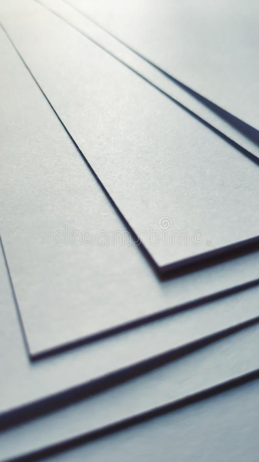 Spreaded sheets of paper stock photos