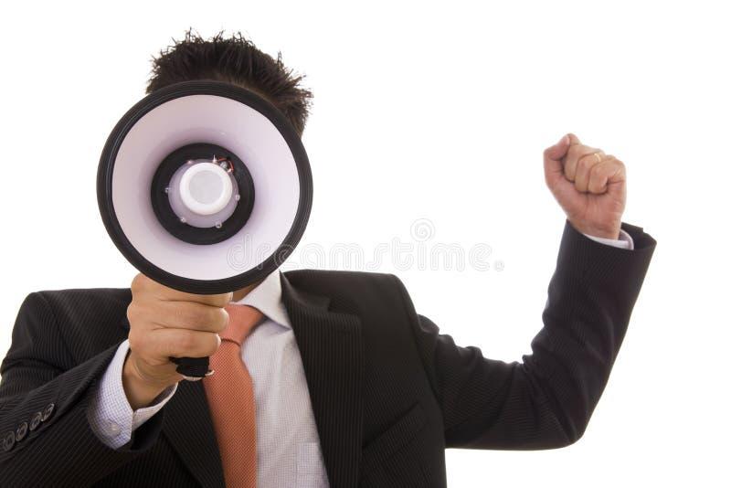 Sprechen lizenzfreie stockfotos