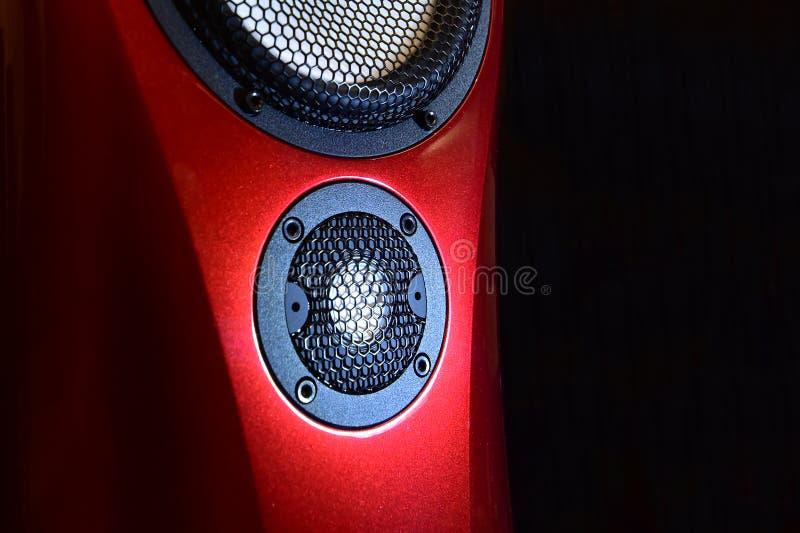 Sprecher - Lautsprecher-moderne industrielle Innenarchitektur lizenzfreie stockfotografie