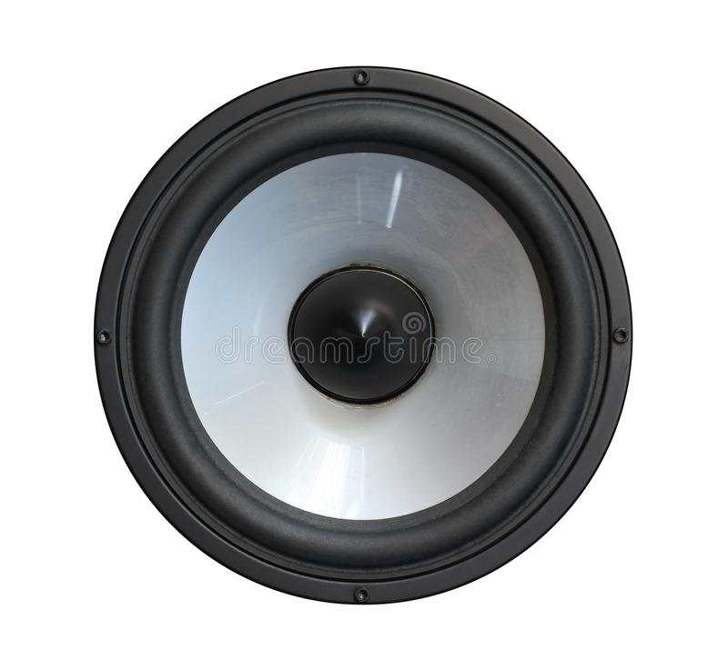 Sprecherbass-Basslautsprecher stockfoto