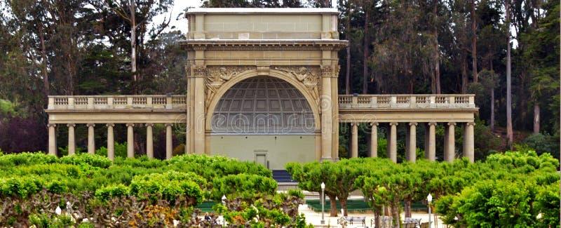Spreckels-Tempel von Musik in Golden Gate Park San Francisco - Ca stockbilder