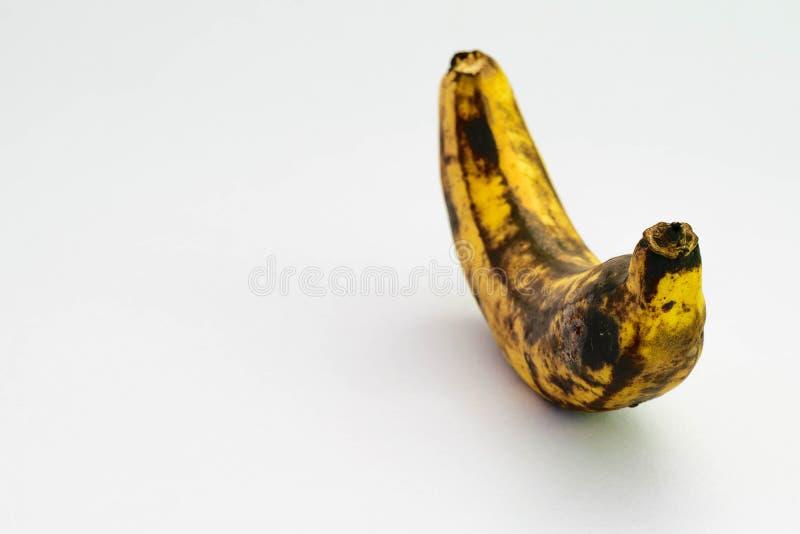 Spreco della banana immagini stock