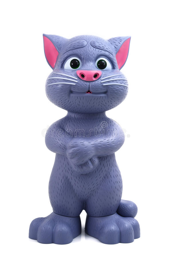 Sprekend Tom Cat stock fotografie