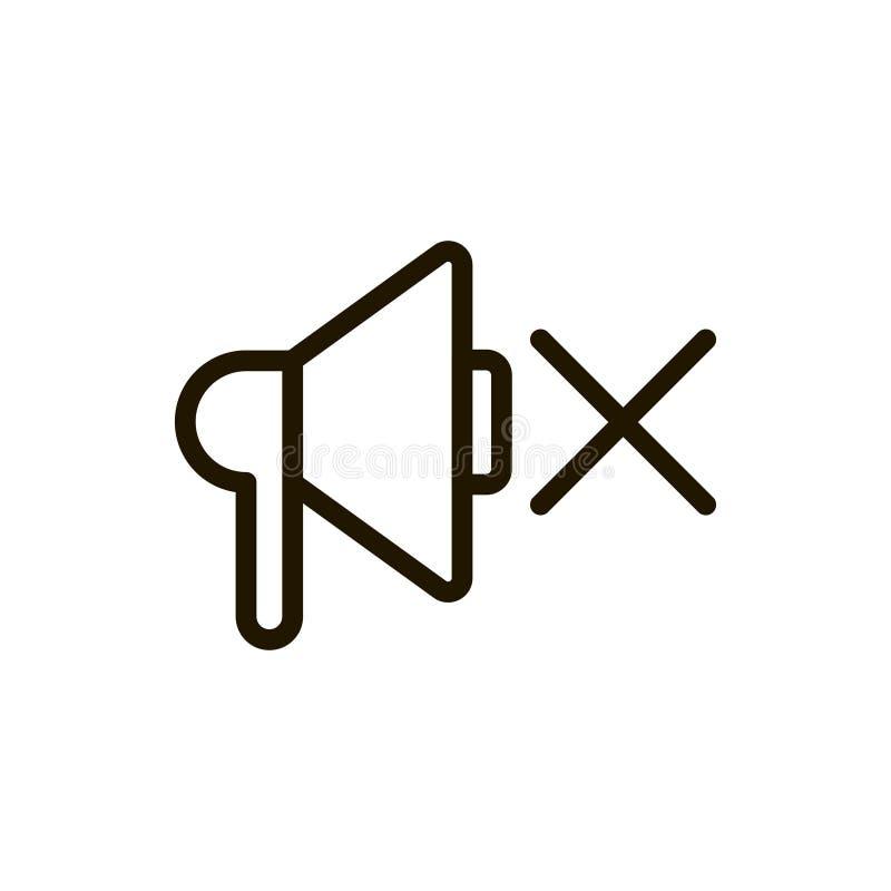 Sprekers vlak pictogram vector illustratie
