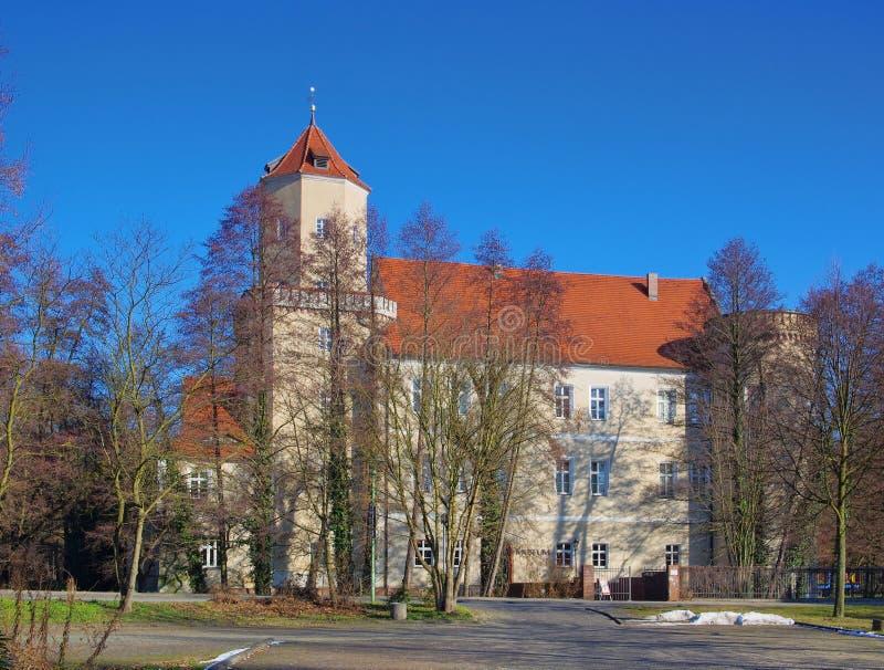 Spremberg-Schloss lizenzfreie stockfotografie