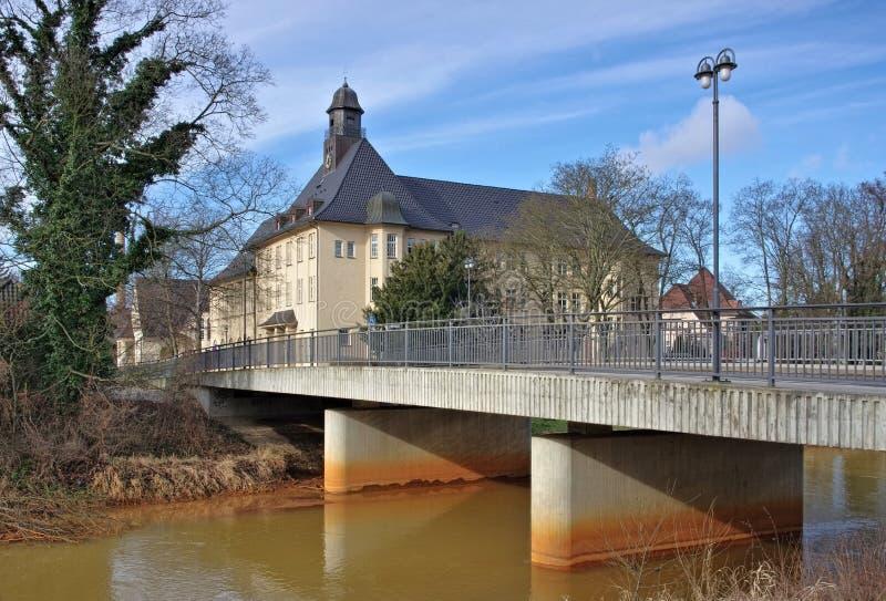 Spremberg-Turnhalle stockfotos