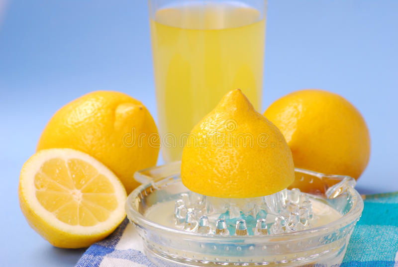 Spremitoio del limone fotografie stock libere da diritti