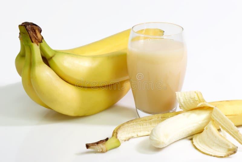 Spremuta della banana immagini stock libere da diritti