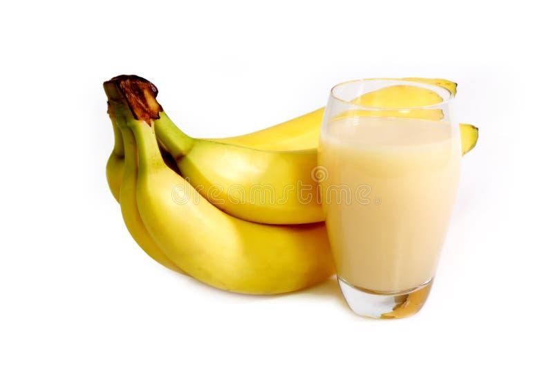 Spremuta della banana immagine stock libera da diritti