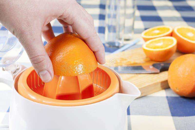 Spremuta delle arance immagini stock libere da diritti