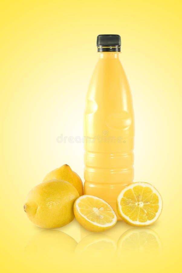 Spremuta di limone immagine stock libera da diritti