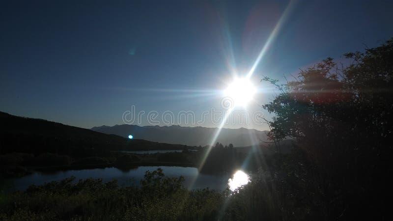 Sprengung des Sonnenscheins lizenzfreie stockbilder