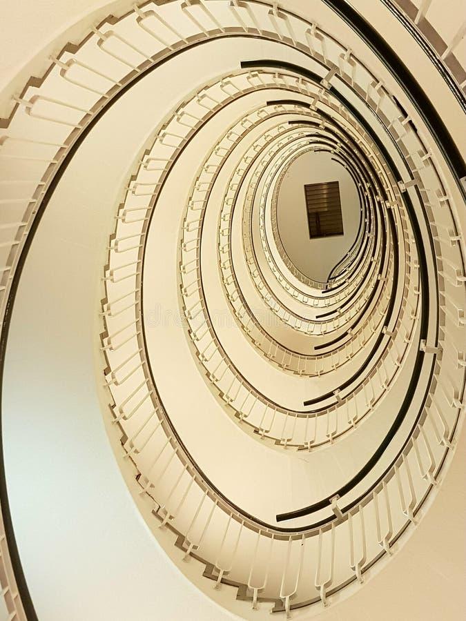sprial лестница стоковая фотография rf