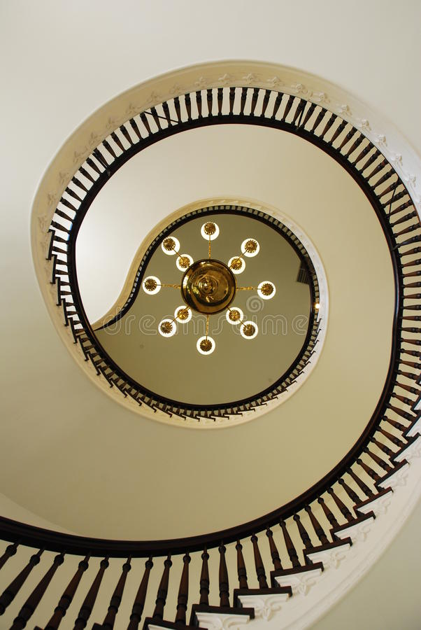 Sprial Staircase stock photo