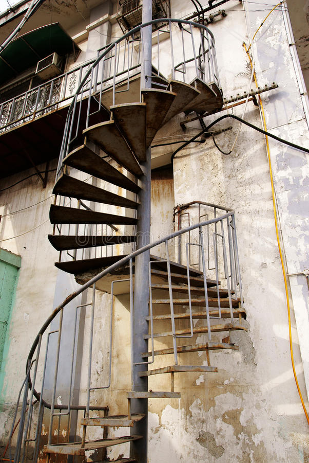 Sprial stairs stock images