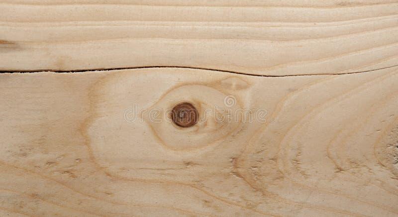 Spricka på wood yttersida arkivfoton