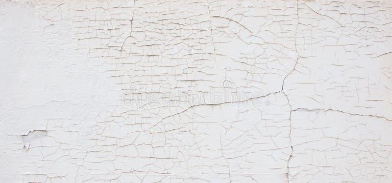 sprickor wall white arkivbilder
