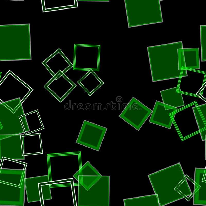 Spridd fyrkantgräsplan arkivbild