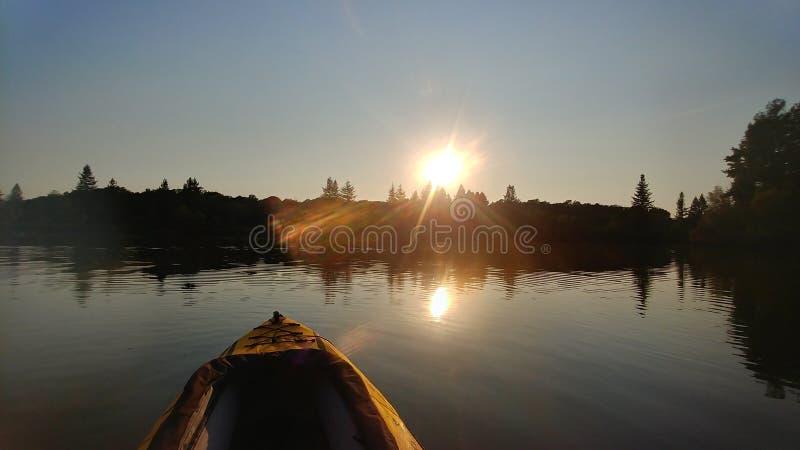 Spring湖圣罗莎加州 免版税库存图片