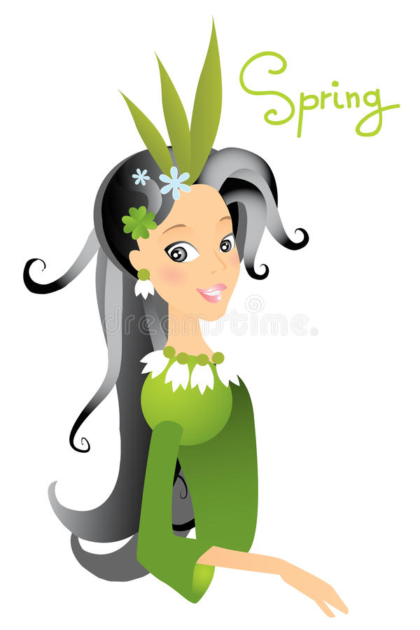 Spring royalty free illustration