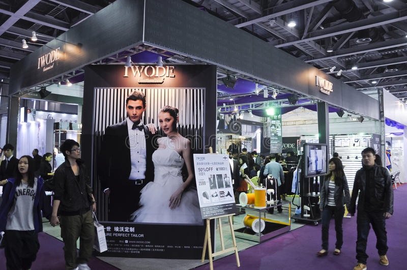 Spring 2011 China (Guangzhou) Wedding Expo Editorial Stock Photo