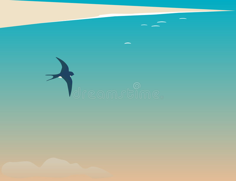 Download Spring. stock vector. Image of swallow, ease, cape, seasonal - 8504813